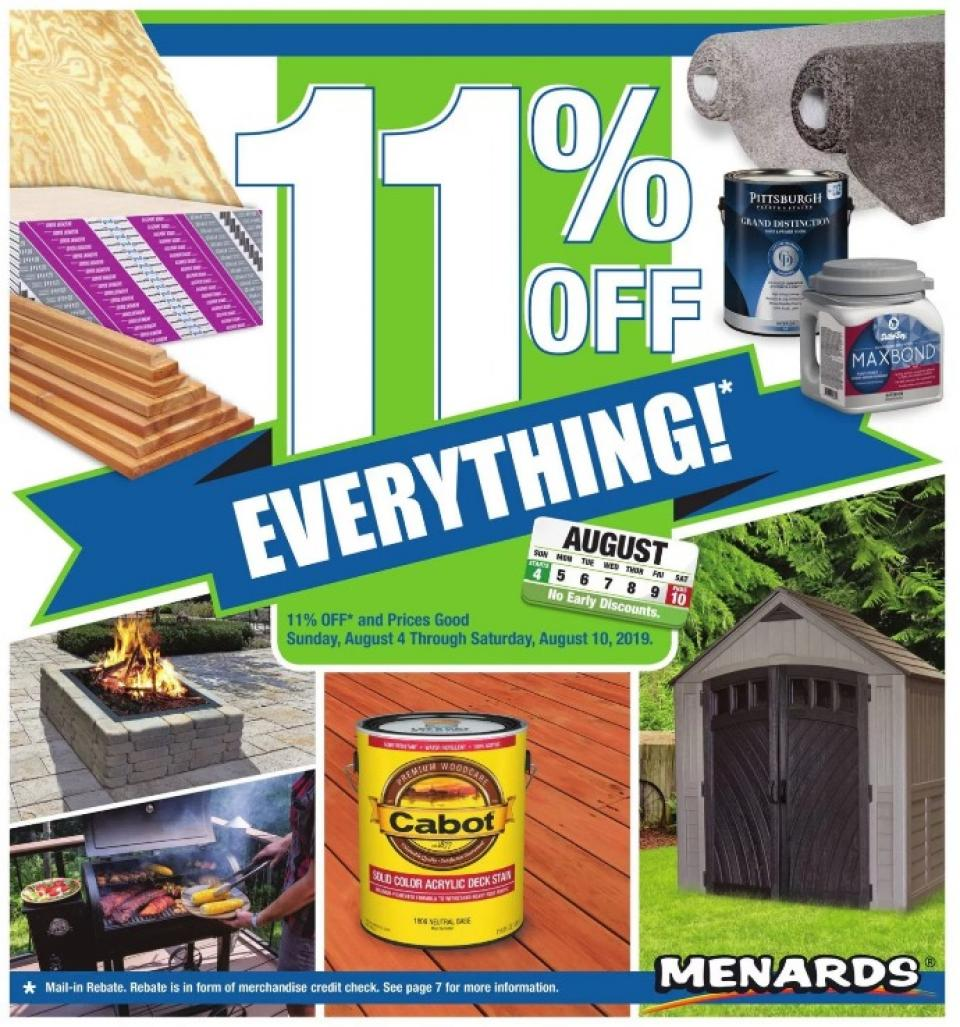 menards ad aug 4 10 2019