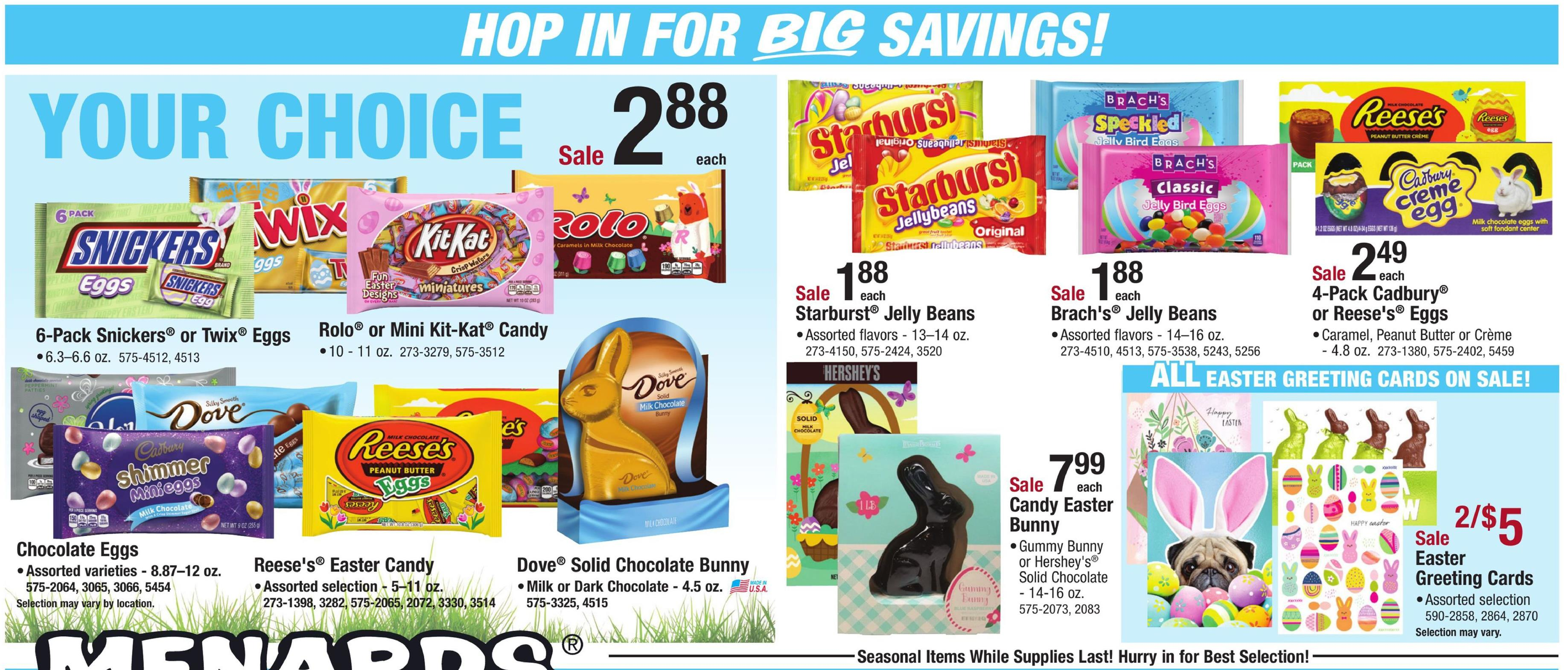 menards ad easter apr 14 2019