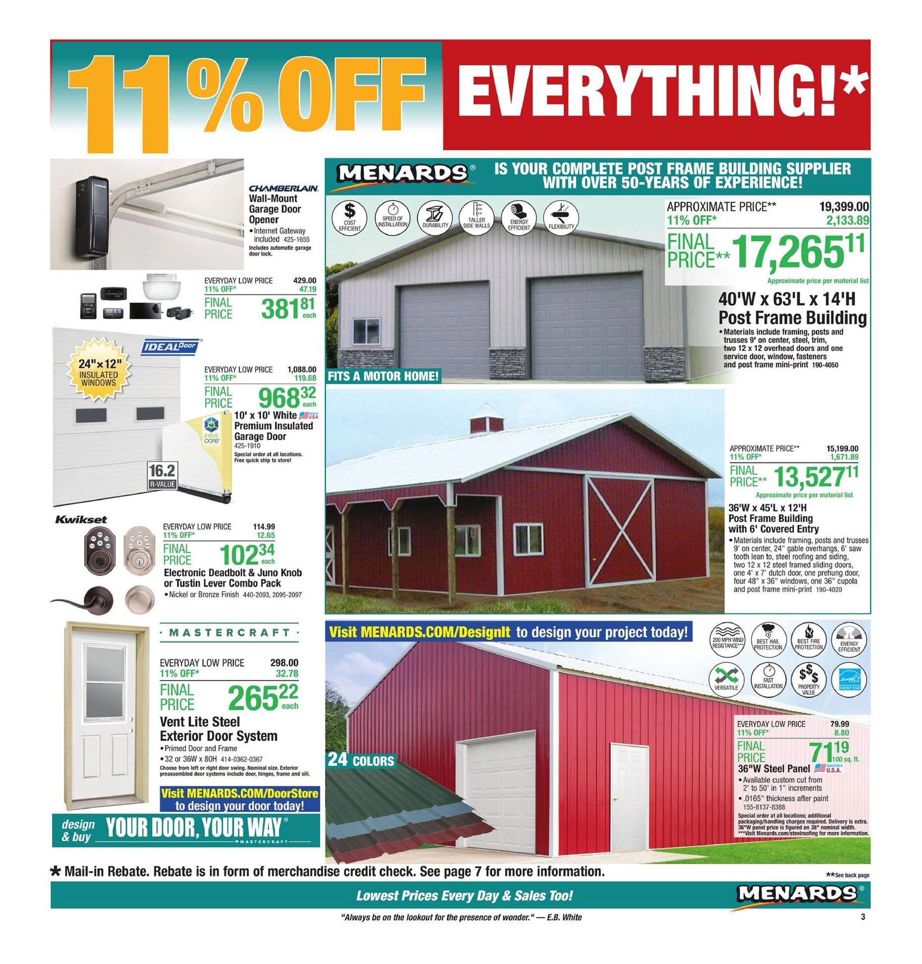 menards ad jul 7 2019