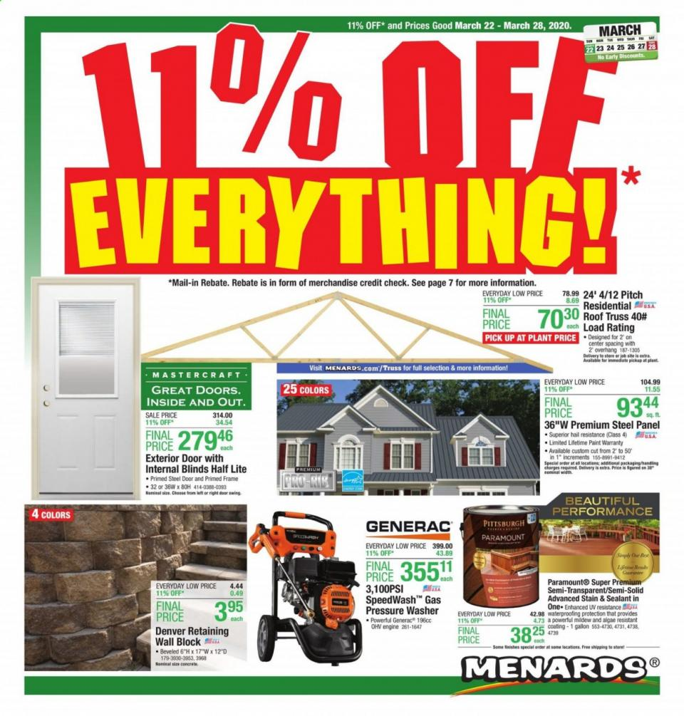 menards ad mar 22 28 2020