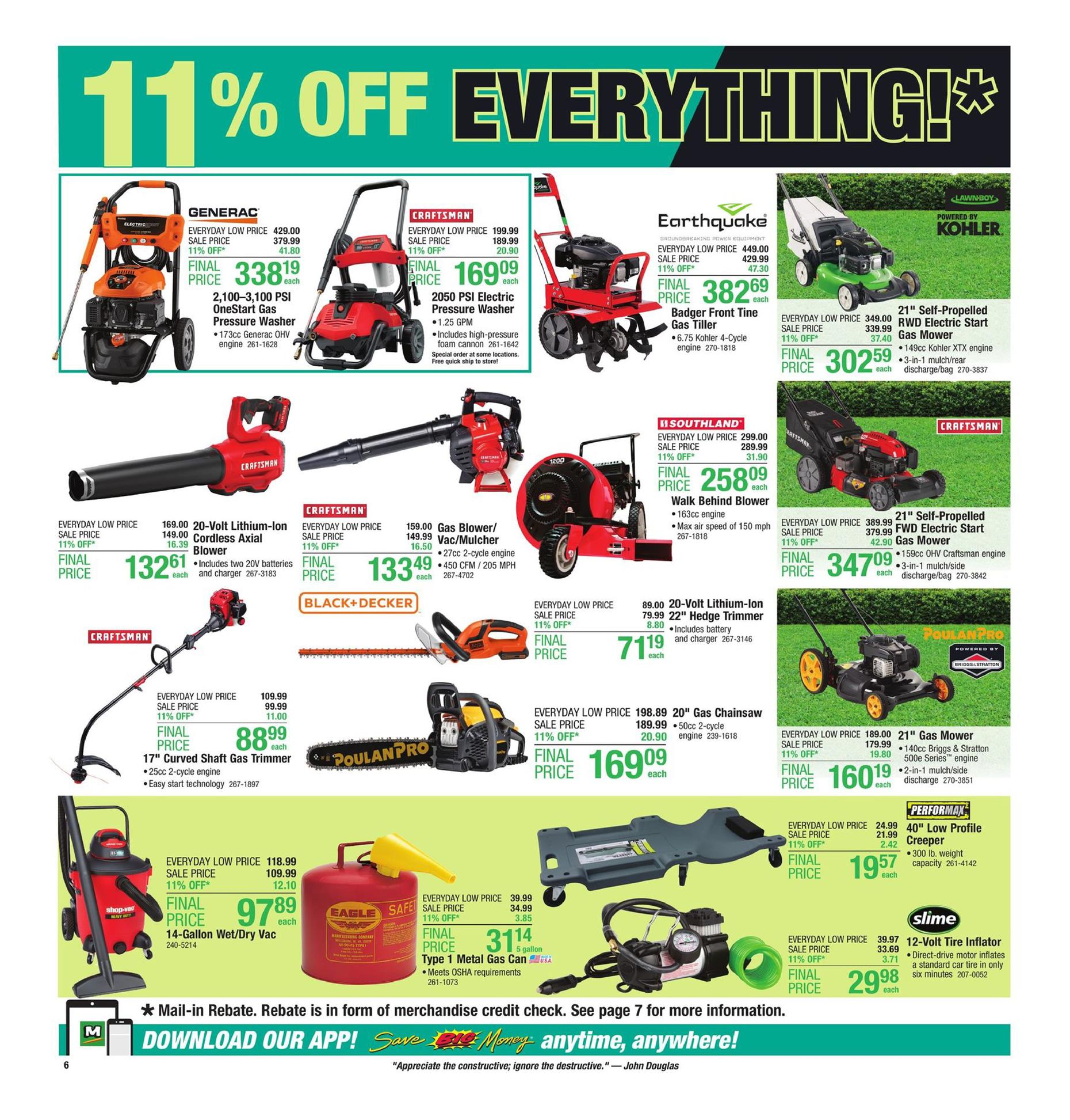 menards ad may 12 2019
