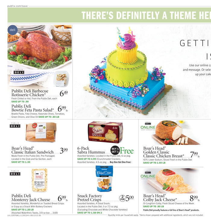 publix weekly ad aug 12 2015