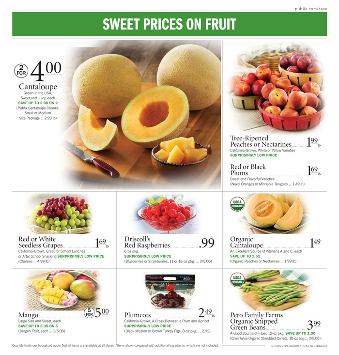 publix weekly ad aug 21 2019