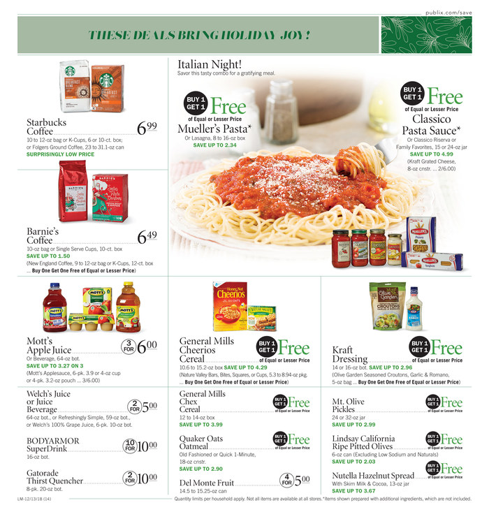 publix weekly ad dec 13 2018