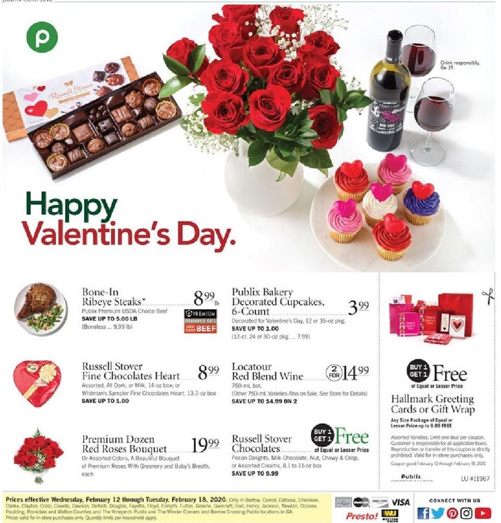 publix weekly ad feb 12 2020