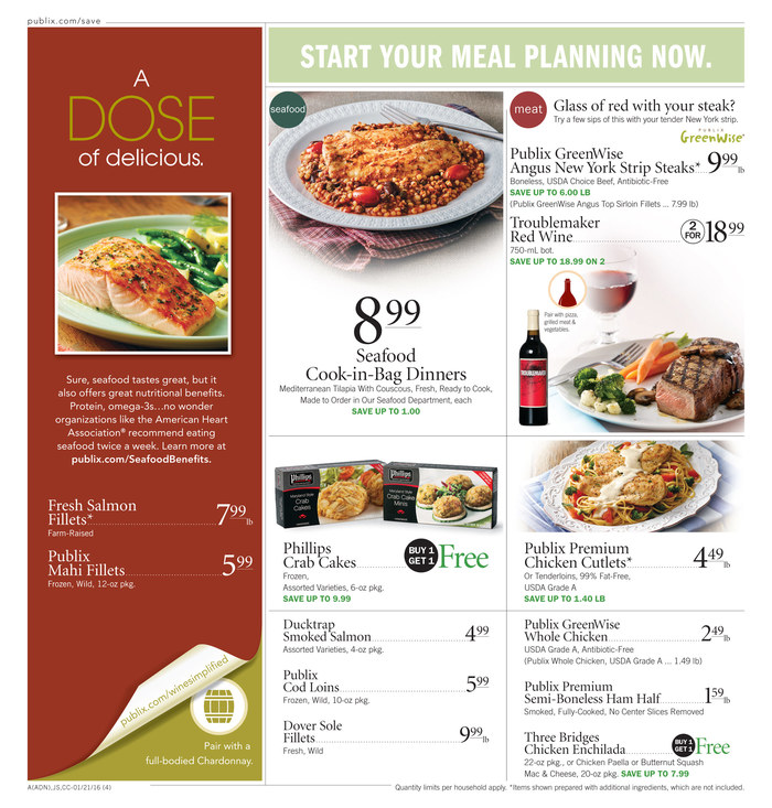 publix weekly ad jan 21 2016