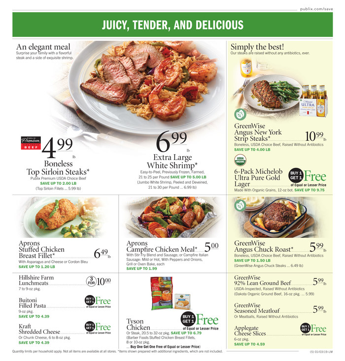publix weekly ad jan 3 2019
