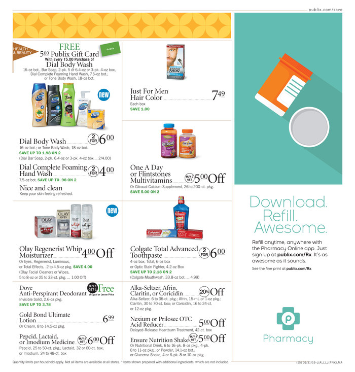 publix weekly ad jan 30 2019