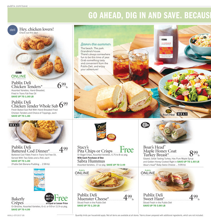publix weekly ad july 12