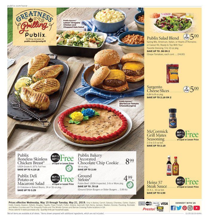 publix weekly ad may 15 2019