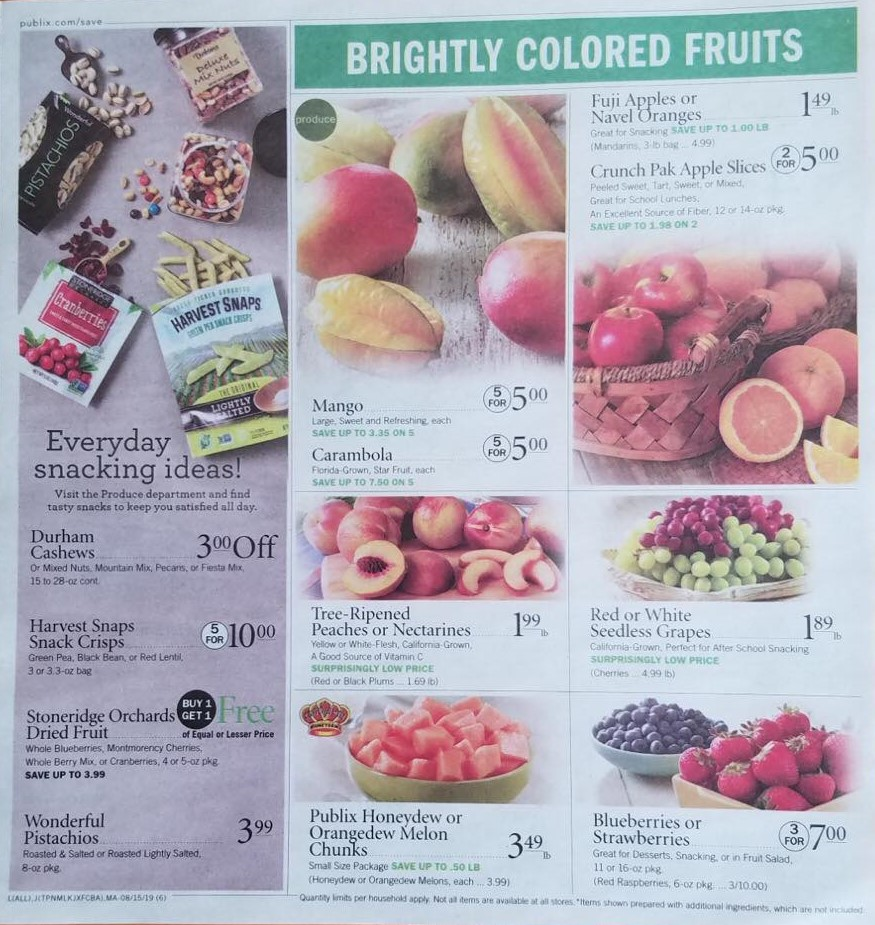 publix weekly ad preview aug 14 2019