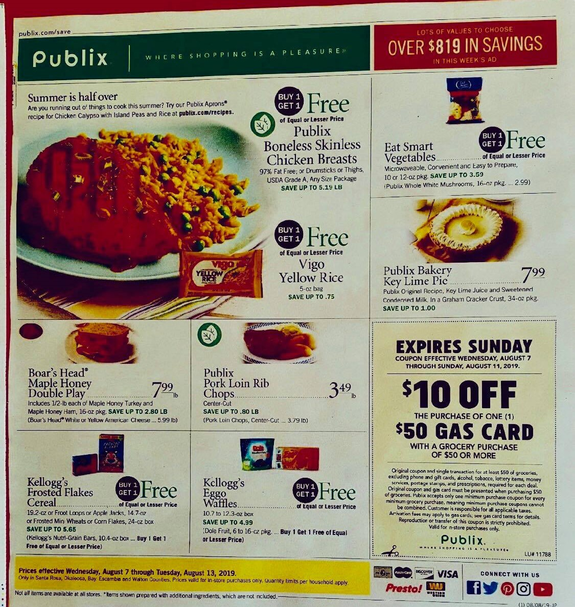 publix weekly ad preview aug 7 2019