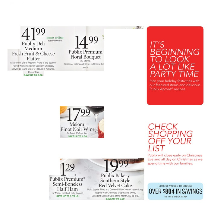 publix weekly ad preview dec 11 2019