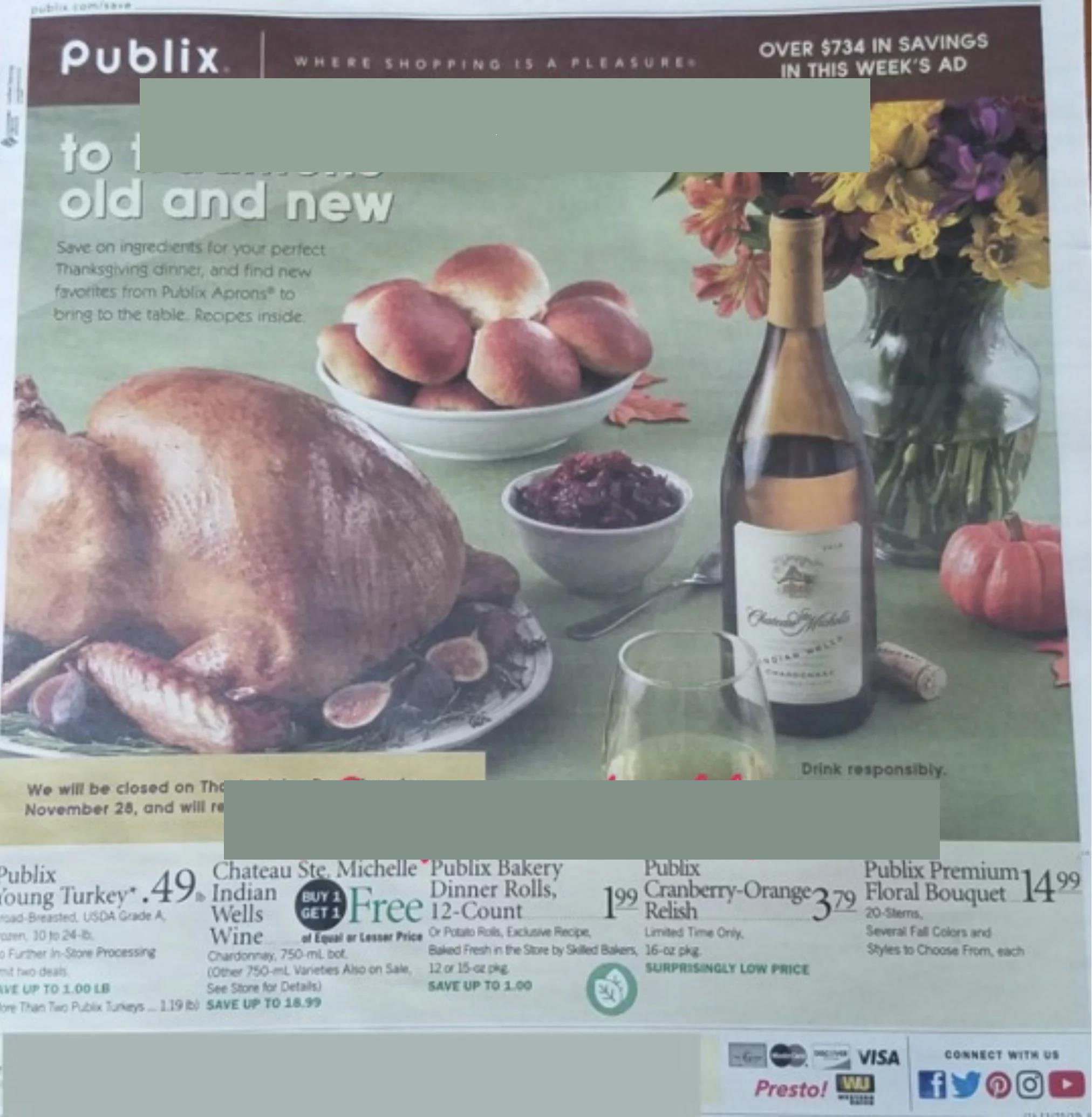 Publix Weekly Ad Preview Nov 20 - 27, 2019