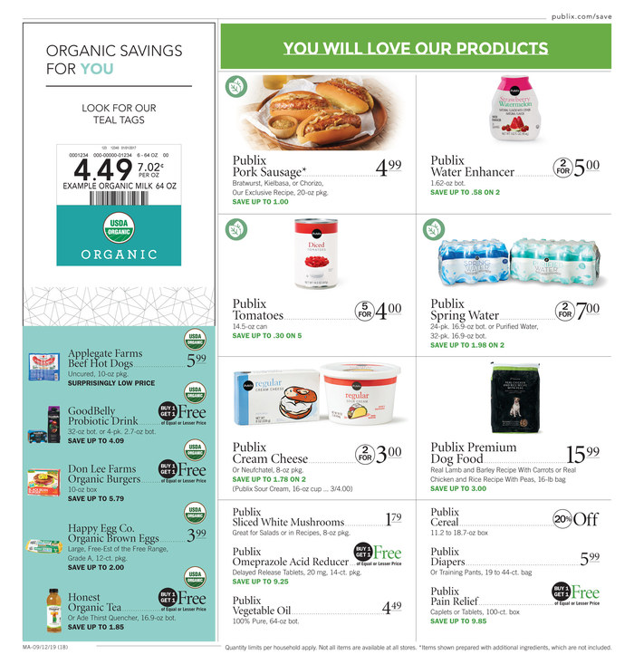 publix weekly ad sep 11 2019