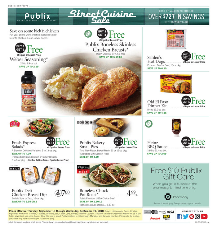 publix weekly ad sep 13 2018