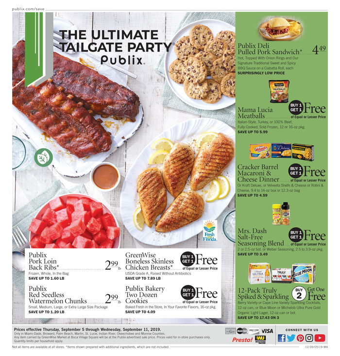 publix weekly ad sep 4 2019
