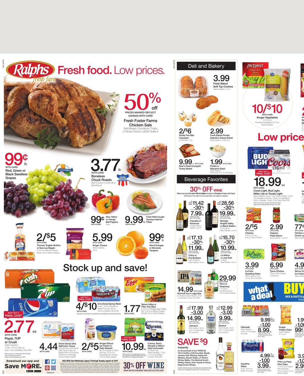 Explore latest Shoprite Weekly Circular Flyer December 2 – 8, Customers can search Shoprite ads or Shoprite circular here to keep track of the discounts, promotions, coupons and deals offered by the store. Shoprite offer everyday groceries and household products, budget-beating recipes, convenient services and much more.