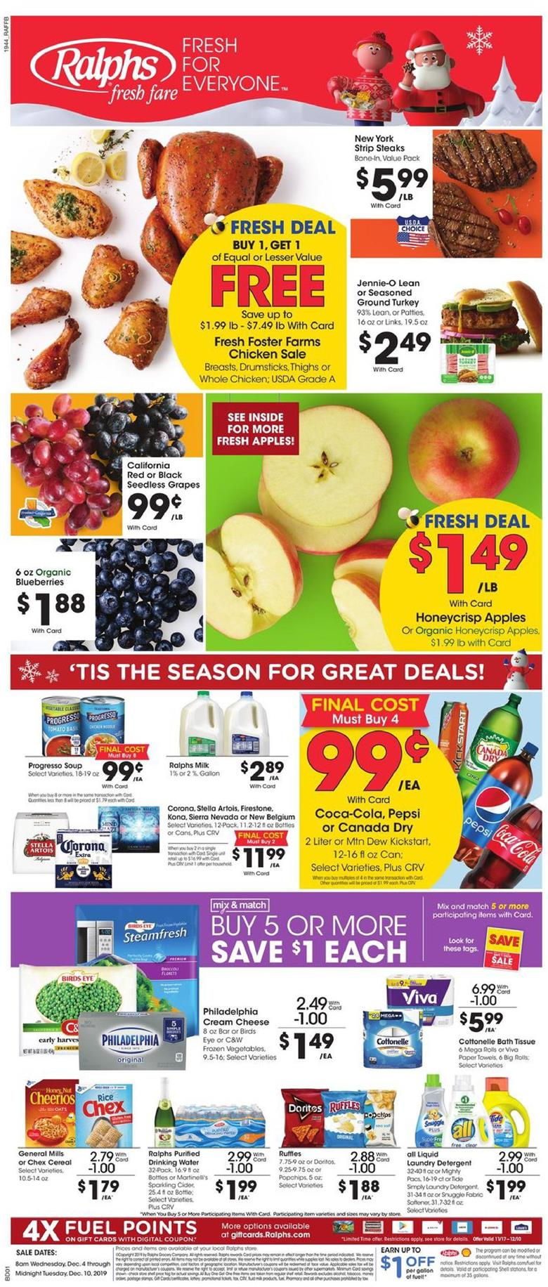 ralphs weekly ad dec 4 2019