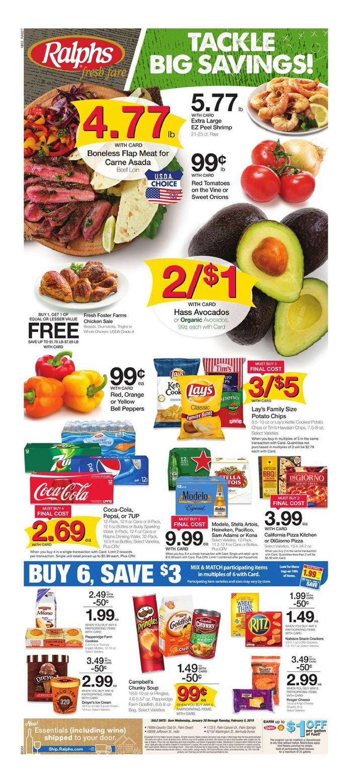 ralphs weekly ad jan 30 2019