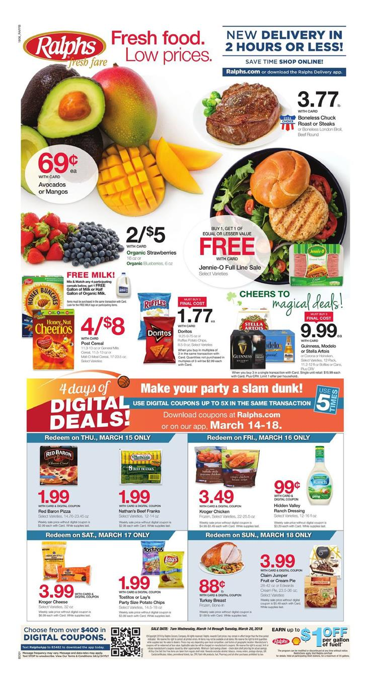 ralphs weekly ad march 14 2018