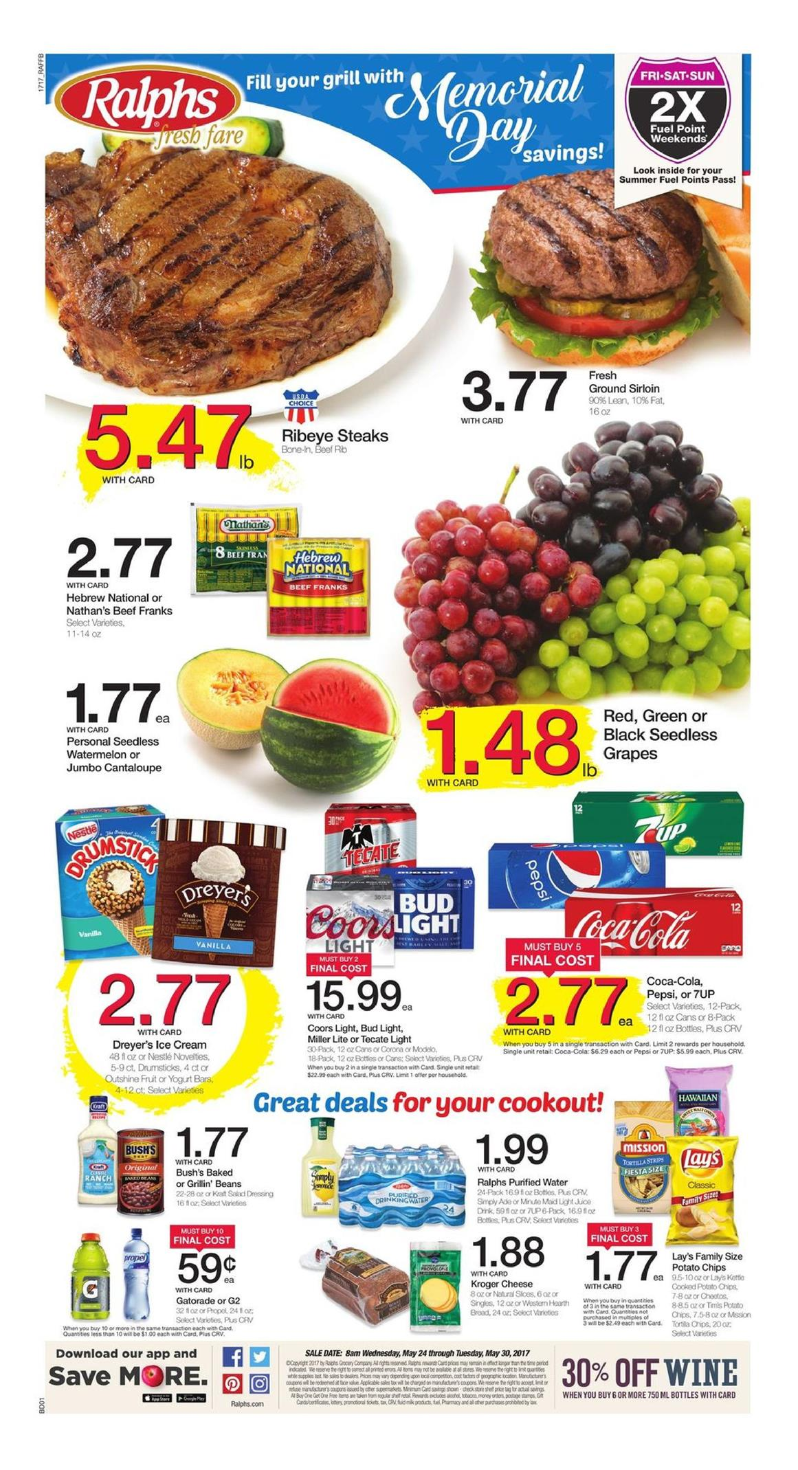 Ralphs weekly ad coupons