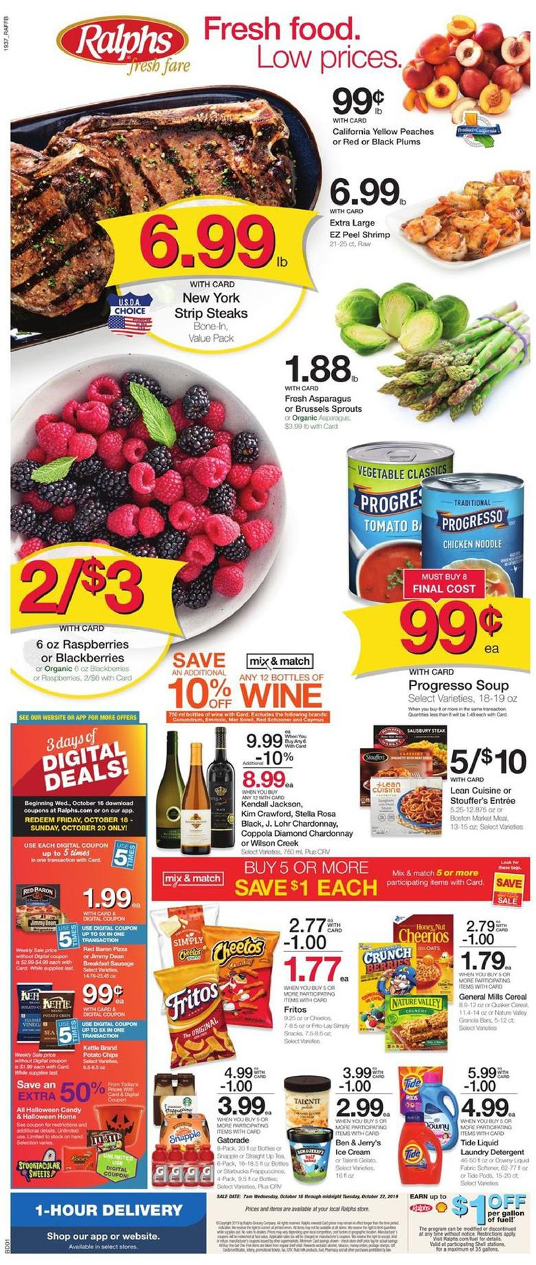 ralphs weekly ad oct 16 2019