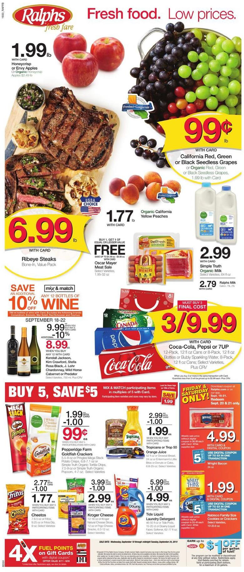 ralphs weekly ad sep 18 2019