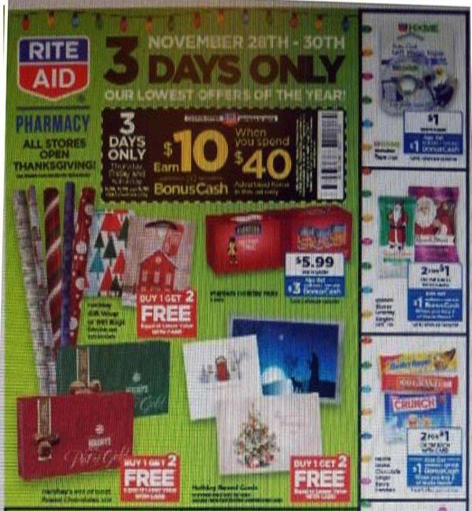 Rite Aid black friday ad
