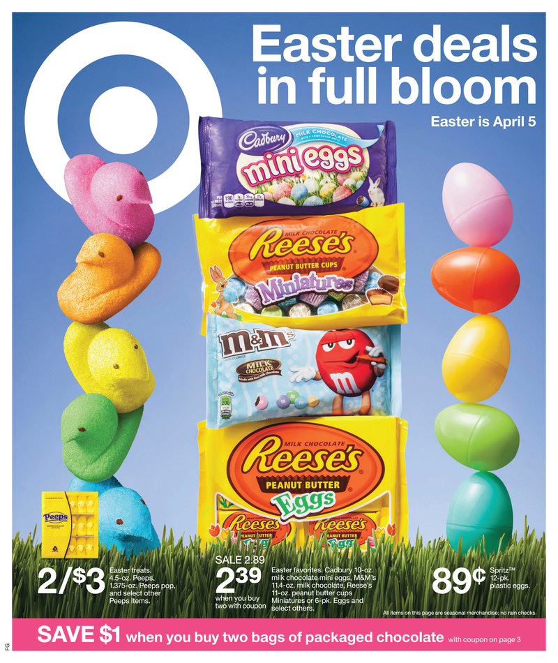target easter coupon text