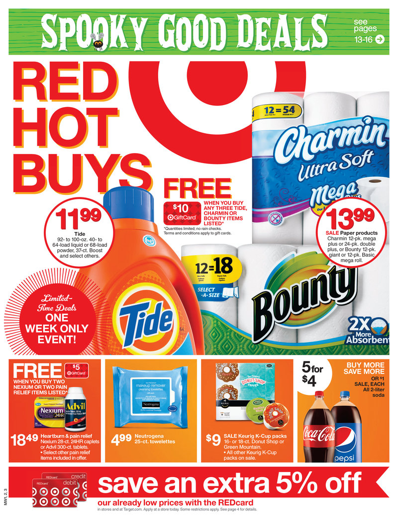 Weekly Ad Specials from Sunday Newspapers. List of all weekly ads from local Sunday newspapers sale circulars. It's the easiest to pick up a newspaper on Saturday but if you don't have access, here's an aggregate list to this week's specials.