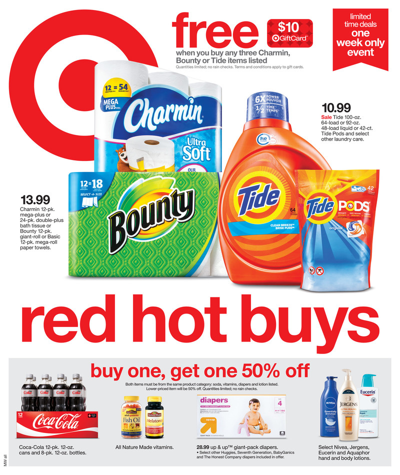 target weekly ad preview 8/25/19
