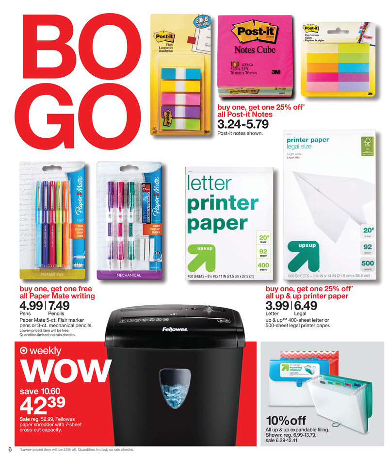 sale paper for target Stationery – looking for colouring pencils or markersdon't know where to find drawing pads or colouring bookskeep it cool, because target has all things stationery right in this category zone you can also decorate our range of weekly diaries and make the perfect plans and organise for upcoming events.