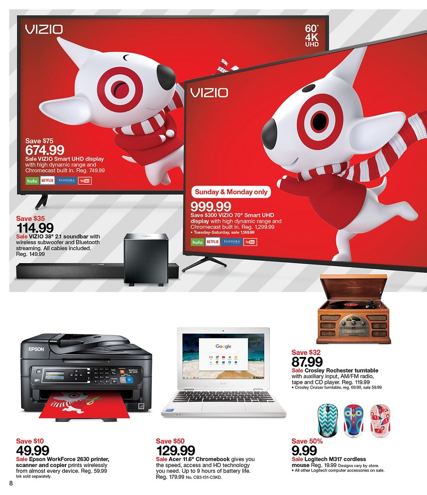The return of the 15% off Cyber Monday discount. Plus, save big all week during the Target Cyber Week sale. As shoppers gear up for Black Friday at Target, the retailer wants to remind us about the upcoming Cyber Week savings. Starting on Sunday, Nov. 25, manytubes.ml will offer daily deals and a full week of savings.