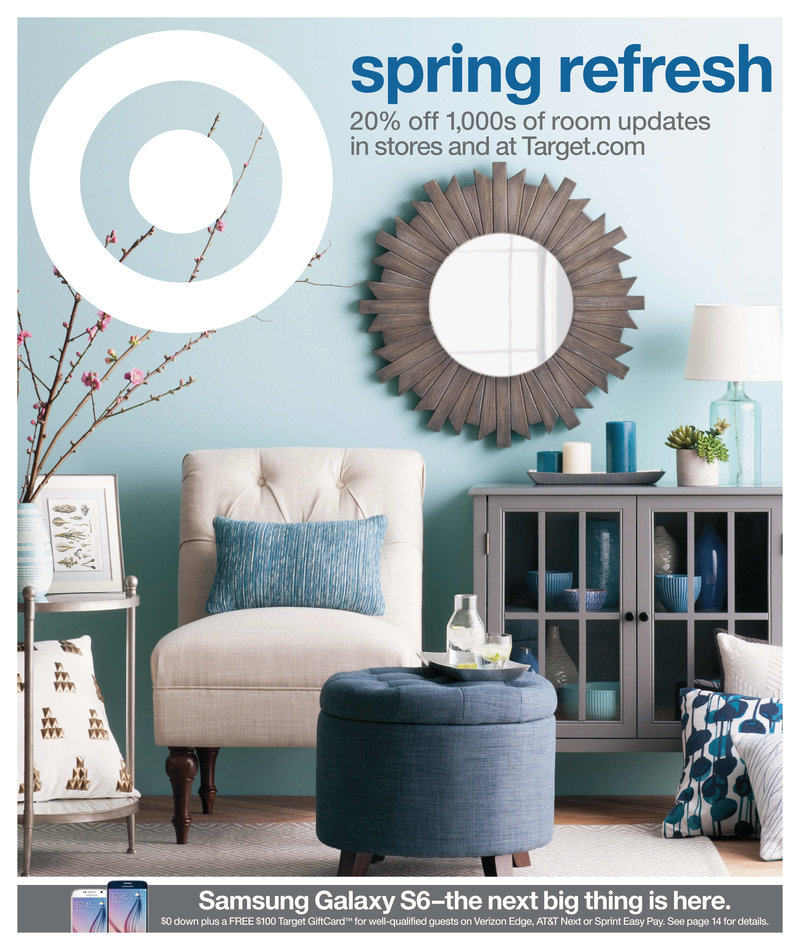 Target Home: Target Weekly Ad 12th April Spring Home Sale
