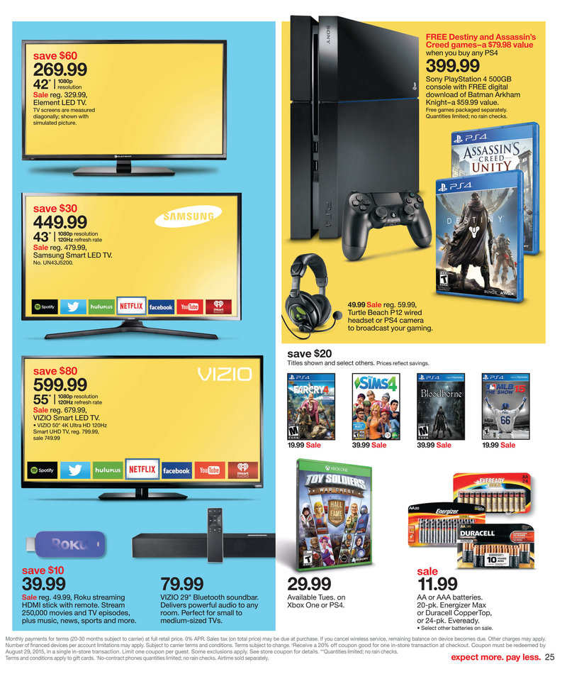 target weekly ad 8 9 2015 home products