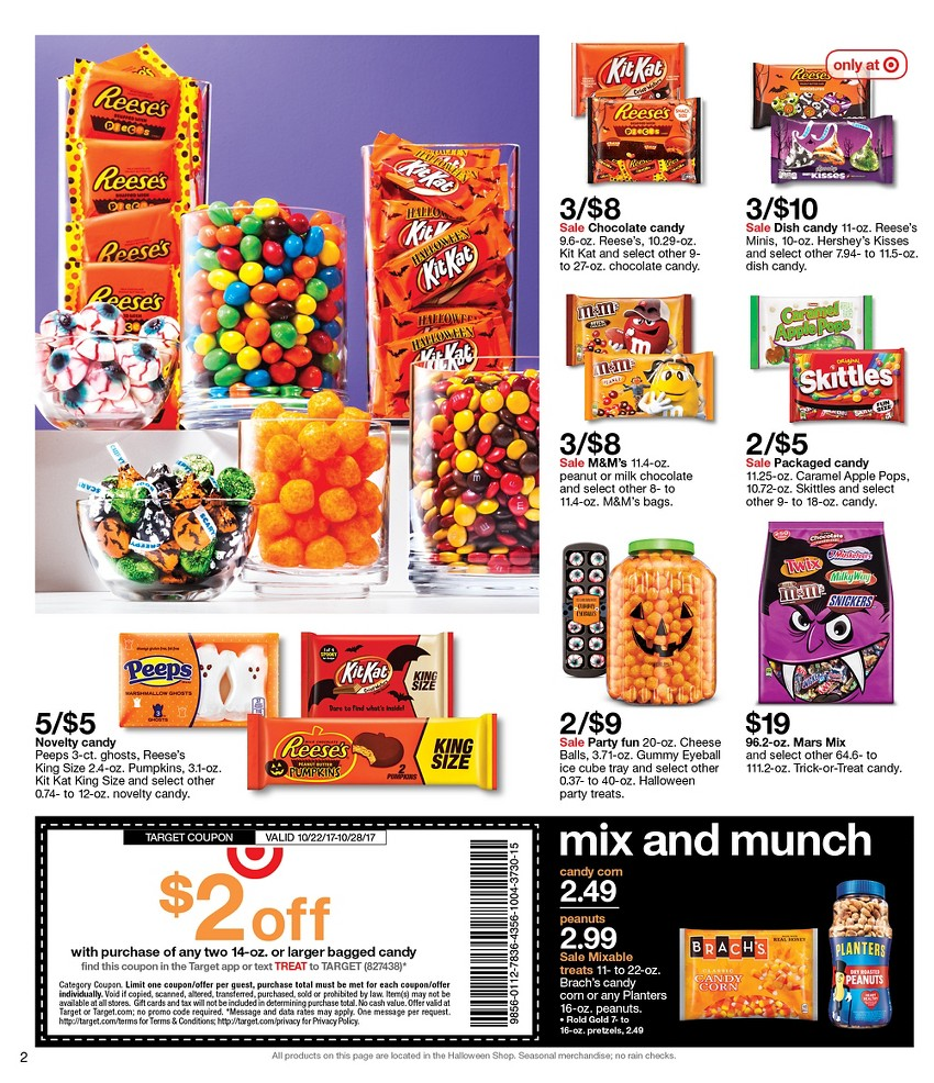 target weekly ad october 22 2017