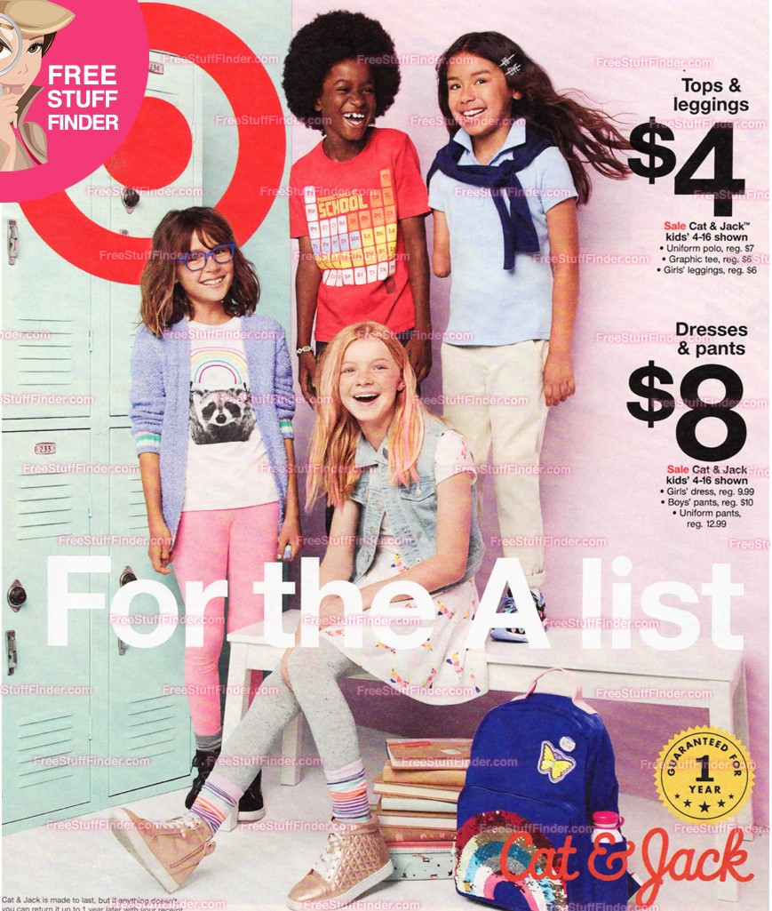 target sale ad preview