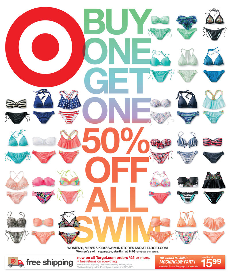 19307e3210 Target Weekly Ad Swimwear Sale March 2015