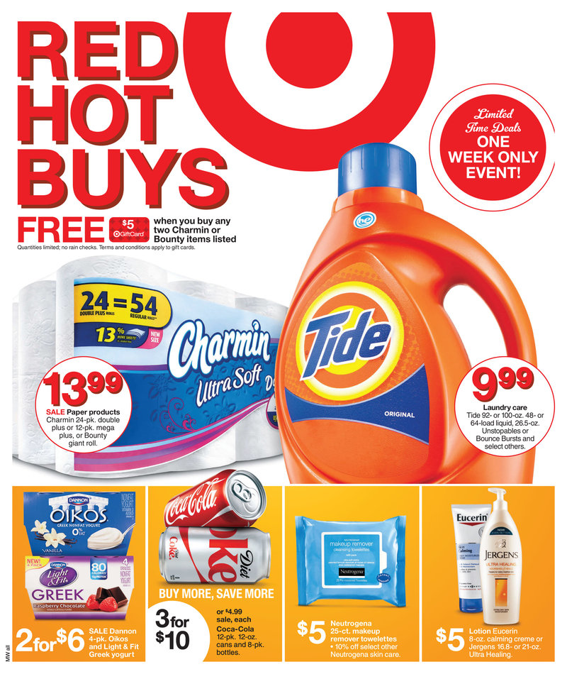 target weekly ads january 2015 grocery and home sale