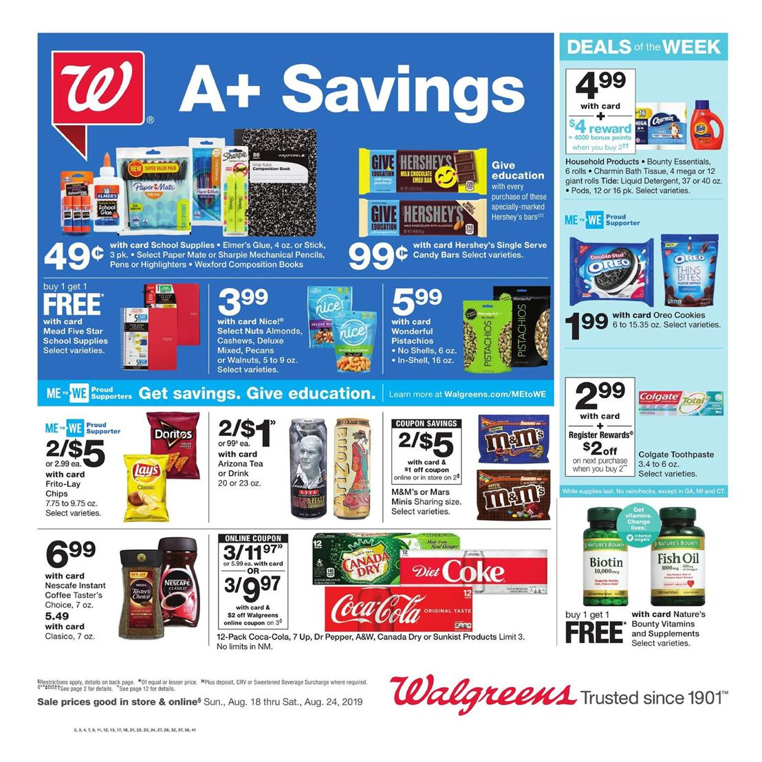 walgreens weekly ad aug 18 2019