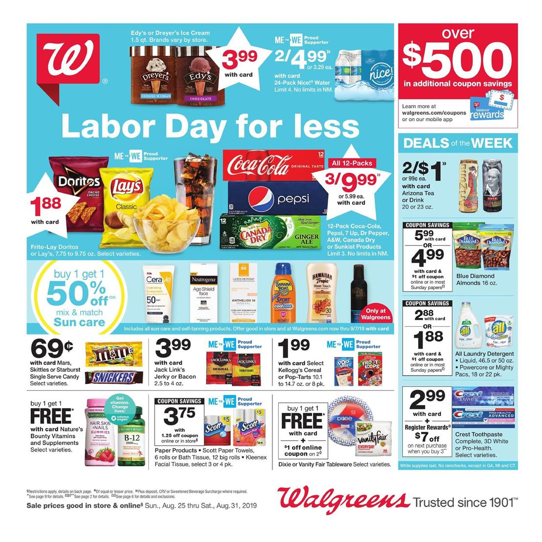 walgreens weekly ad aug 25 2019