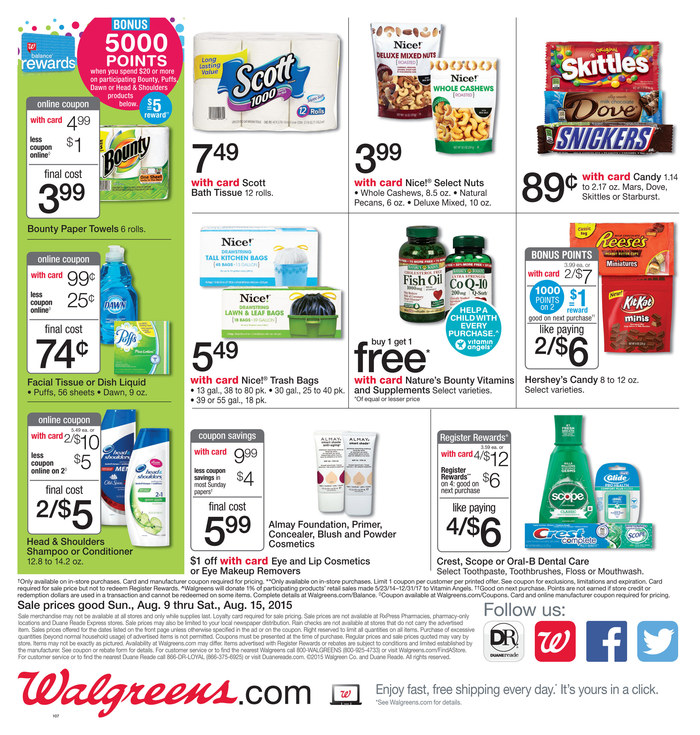 walgreens weekly ad aug 9 2015