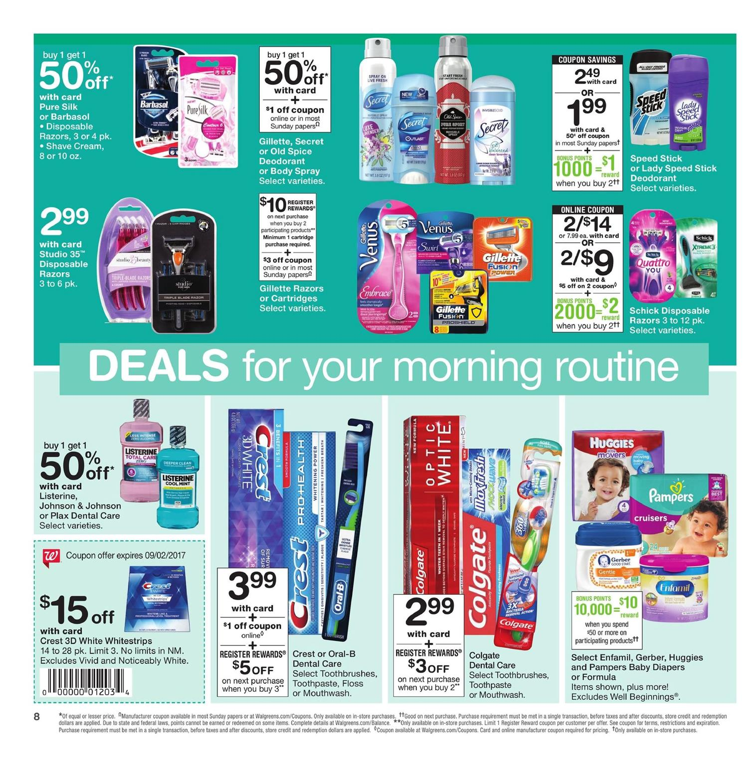 walgreens weekly ad august 27 2017