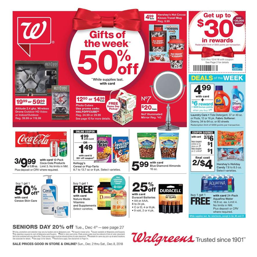 walgreens weekly ad dec 2 2018