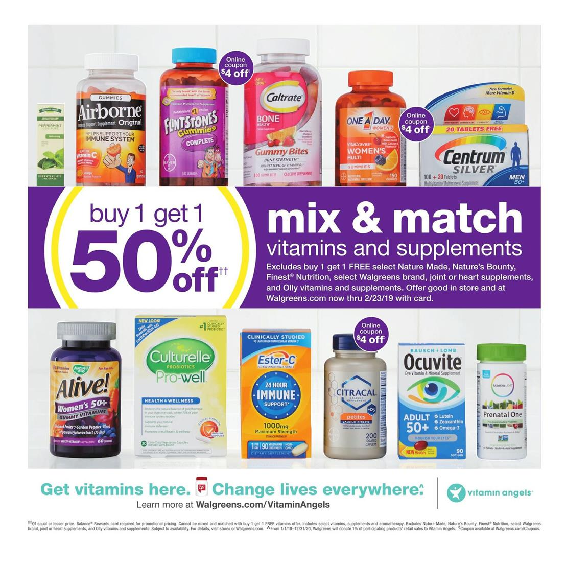 walgreens weekly ad dec 30 2018