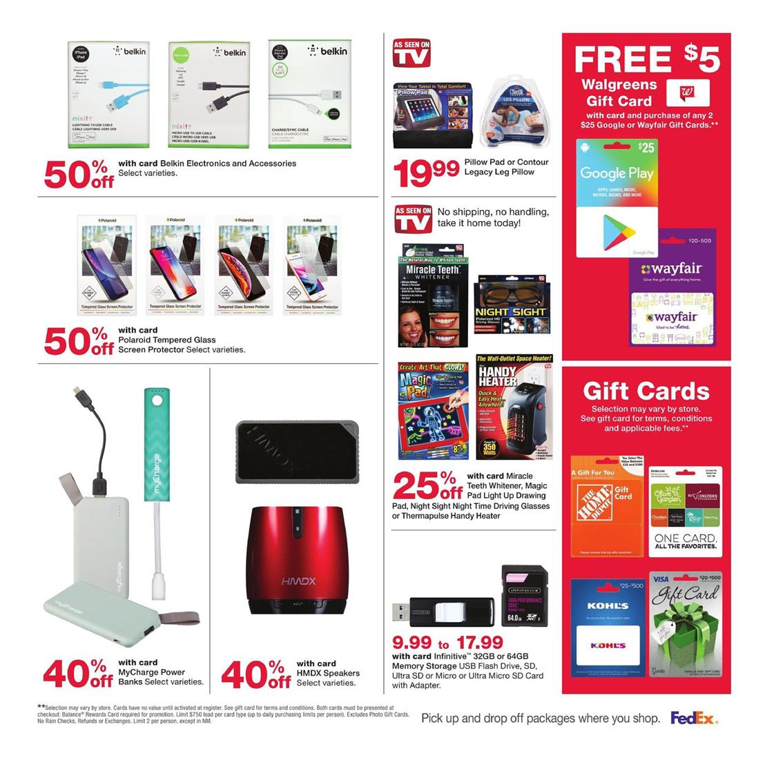 Walgreens Holiday Gifts Dec 8 - 14, 2019 Weekly Ad