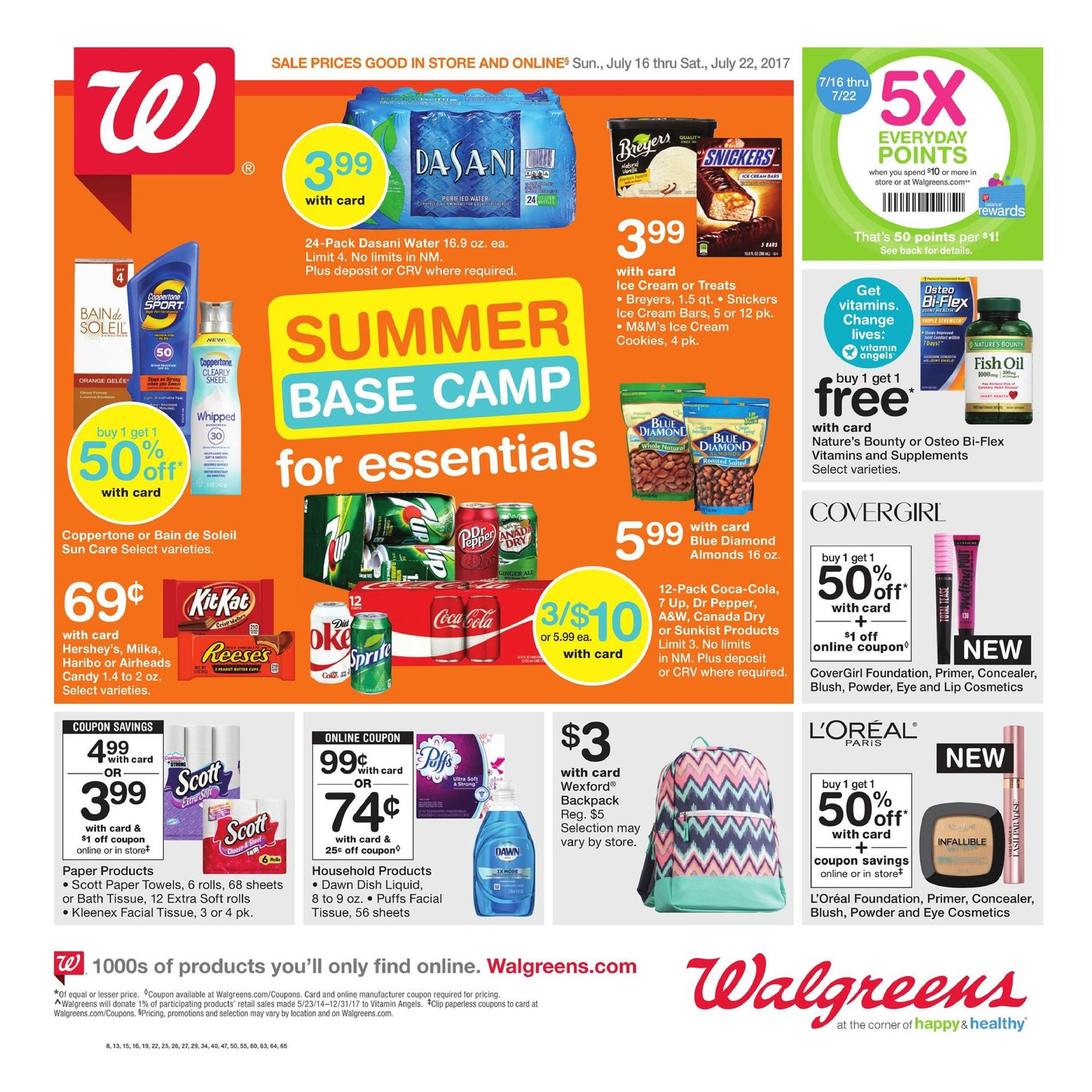 Browse the latest Walgreens Weekly Ad, valid December 9 – December 15, Don't miss the Walgreens Flyer Deals and household & beauty sales & offers from the current Ad Circular.
