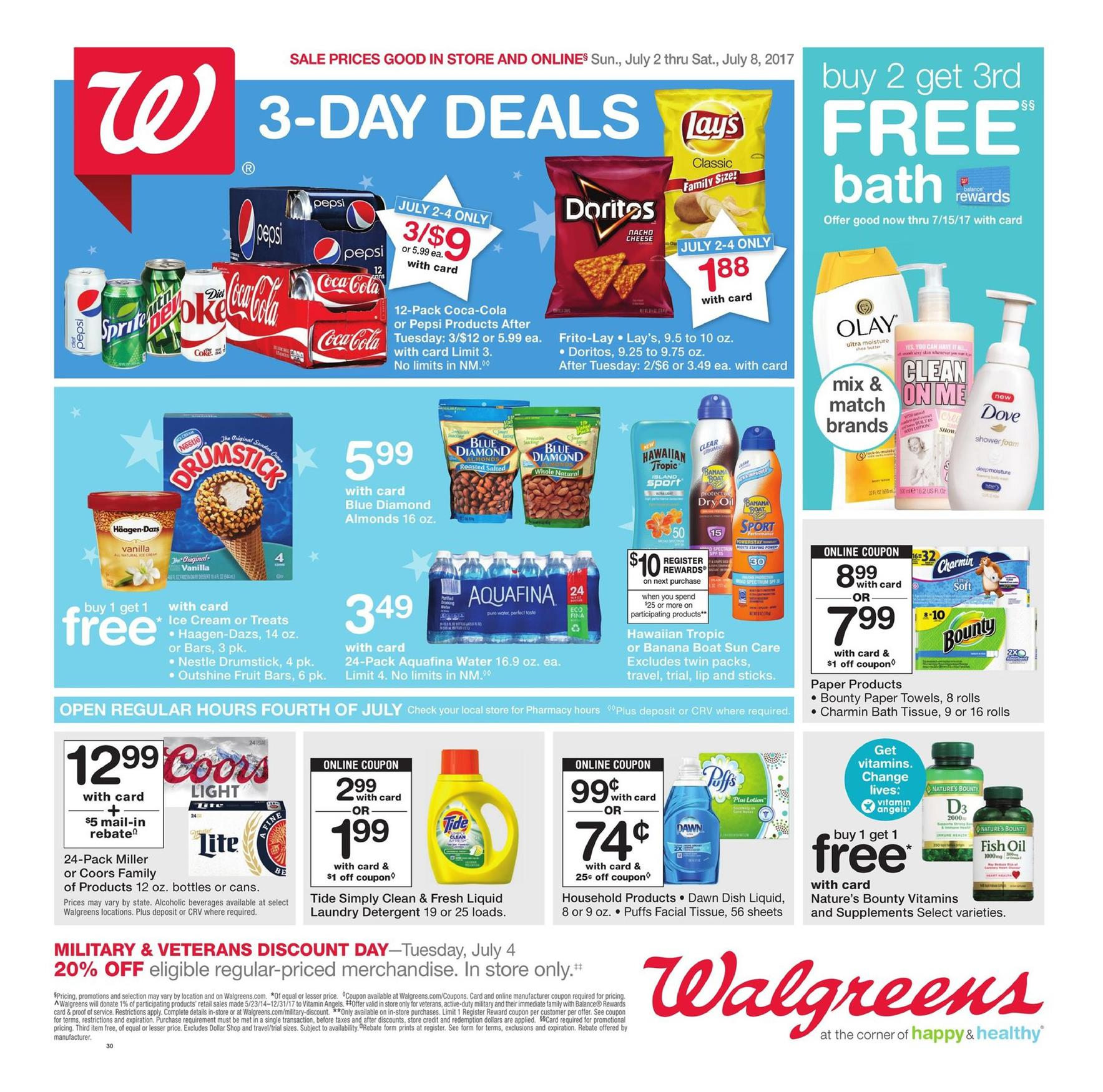 Spend less at the drug store with Walgreens store deals, coupons, promotions, & more on the things you buy. We're obsessed with Walgreens!