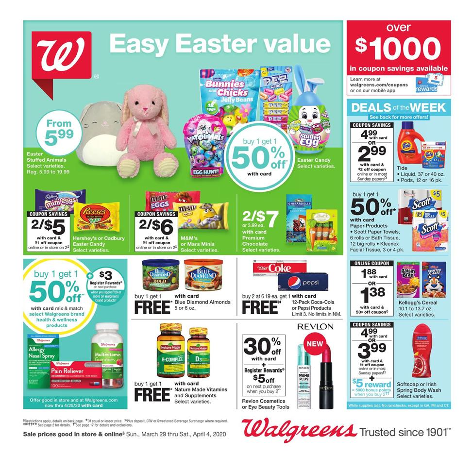 walgreens weekly ad mar 29 2020